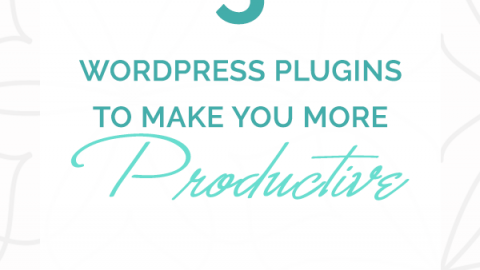 5 WordPress Plugins to Make You More Productive - DChristineDesign.com